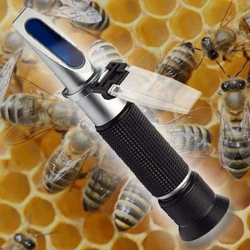 Réfractomètre marmelade confiture fruit miel sucre brix teneur en eau densité R03-FBA OCS.tec GmbH & Co. KG