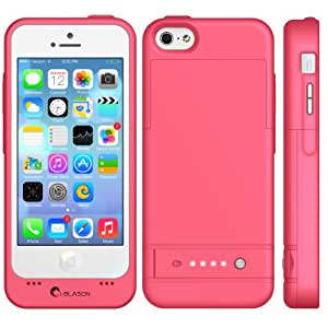 iphone 5c battery case i blason apple iphone 5c powerglider rechargeable external 3537