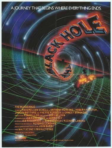The Black Hole Poster Movie 1979 Style B