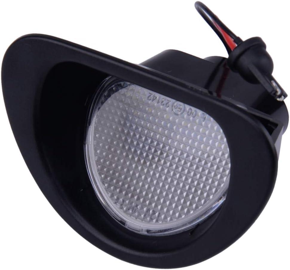 beler 2Pcs 18 LED Lampe de Plaque dimmatriculation Lampe 6340E2