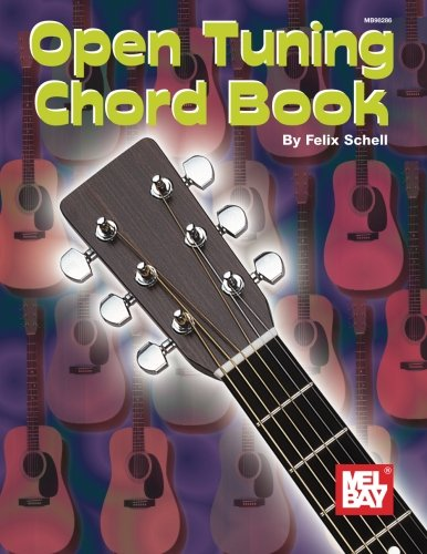 Mel Bay The Open Tunings Chord Book - Open Tuning Chord Book