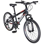 Vilano Kids Mountain Bike, 20 inch 6-Speed Hardtail