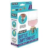upside down bottle holder - Flip-It FL4X2HBB Bottle Emptying Kit for Bath and Beauty, 2-Pack