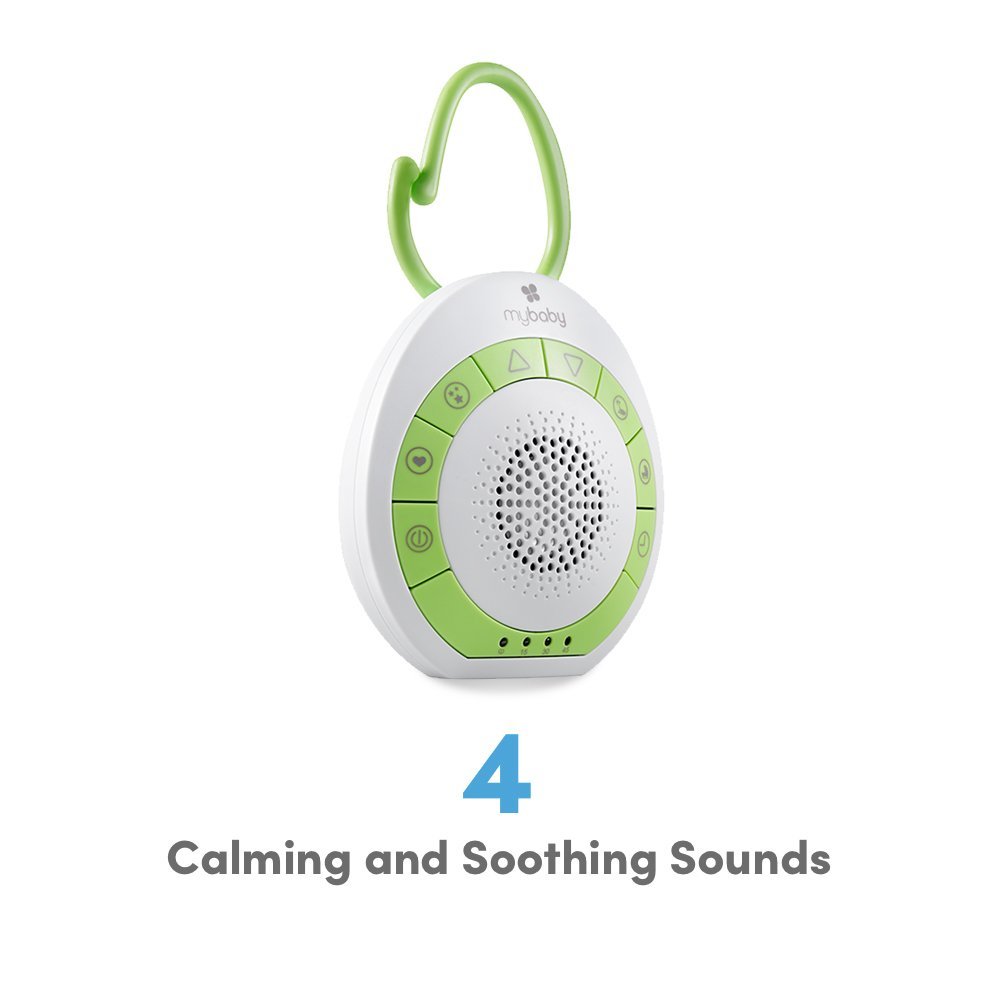 Portable White Noise Machine Homedics MYB-S115A MyBaby Soundspa On-the-Go