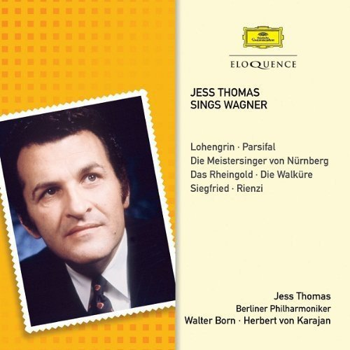 CD : Jess Thomas - Jess Thomas Sings Wagner (CD)