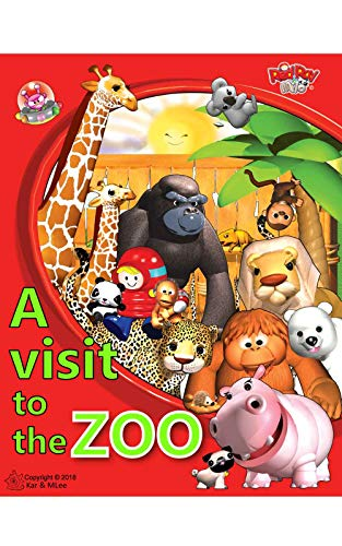 Gorilla Koala - A VISIT TO THE ZOO: A VISIT TO THE ZOO, THERE ARE ELEPHANT, HIPPO, RHINOCEROS, ORANGUTAN, KOALA, PANDA, MOOSE, MONKEY, BEAR, LEOPARD, GORILLA. INNOVATIVE ... (REDRAY AND MILO A VISIT TO THE ZOO Book 1)