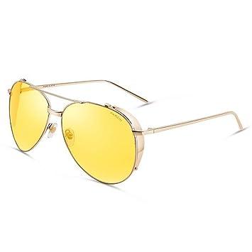 XIAOYUTOU Marca Gafas de Sol polarizadas Hombres y Mujeres ...