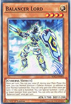 Yugioh Balancer Lord SDCL-EN005 1st Common Near Mint Fast Shipping!