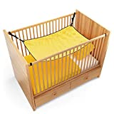 Custodian - Baby Hammock - Bed/Bassinet - Womb Like - Quality Sleep - 2-9 Months - Comfortable Soft Material - Metal Buckle - Boy/Girl - Complimentary Travel Pouch - 117 x 75 - Yellow - Baby Shower