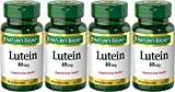 Nature039s Bounty Lutein 40 Mg 30-Count Pack of 4 Discount