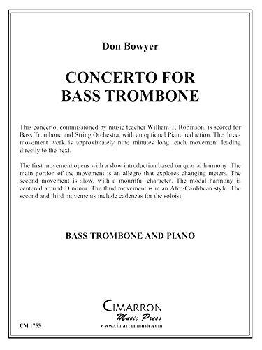 Concerto for Bass Trombone (Bass Trombone Concerto)