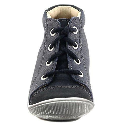 GBB - Zapatillas de deporte de Otra Piel para niño azul marino