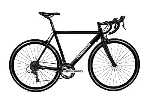 Poseidon Sport 4.0 Entry Level Road Bike Blk/Sil - CLEARANCE