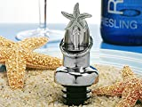 Starfish design Wine pourer, Bottle stopper combination.