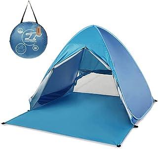 Automatique Pop Up Tente Abris De Plage UV Plage Tente De Campingfamille Tente du Soleil Camping 0066