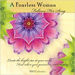 2012 Fearless Woman Mini Wall Calendar Mini calendar