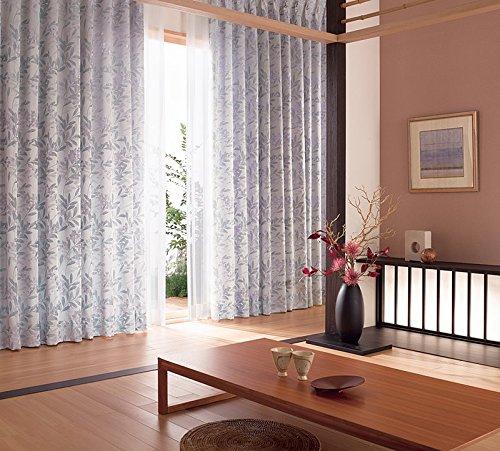 東リ 高密度で繊細に織り上げた草花 カーテン1.5倍ヒダ KSA60160 幅:150cm ×丈:190cm (2枚組)オーダーカーテン   B0784X25NN