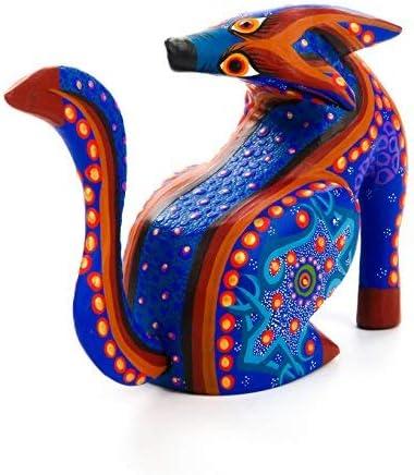 Wood Carving Art Alebrije Lib\u00e9lula I