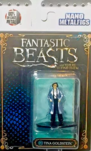 Fantastic Beasts Nano Metalfigs Tina Goldstein 1 1/2-Inch Diecast FIgure HP12