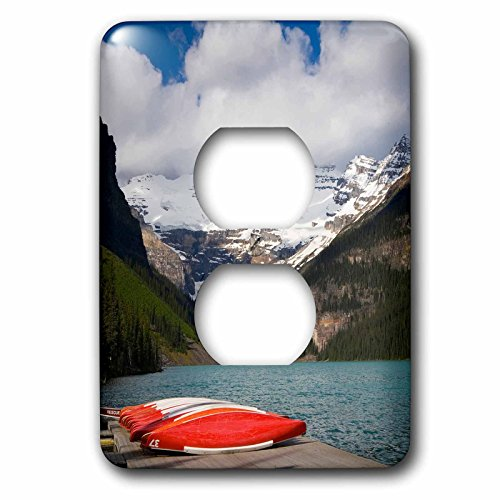 Lake Louise Outlet - Danita Delimont - Canada - Lake Louise, Banff National Park, Alberta, Canada - Light Switch Covers - 2 plug outlet cover (lsp_226685_6)