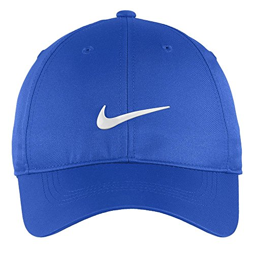 Nike Authentic Dri-FIT Low Profile Swoosh Front Adjustable Cap - Royal -