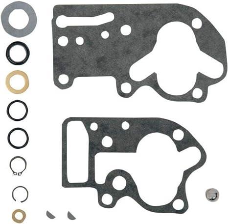 James Gaskets Seal Gasket Kit For Oil Pump W// Paper Gaskets JGI-92-FLH
