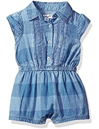 Splendid Baby Girls' Chambray Romper