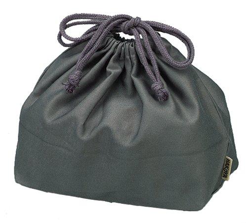 HAKOYA drawstring bag large gray 02 456