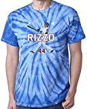 "The Silo TIE DIE BLUE Anthony Rizzo Chicago ""AIR HR NEW"" T-Shirt"