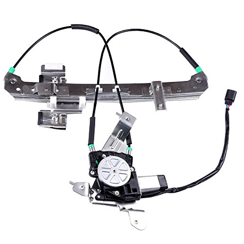 Power Window Regulator with Motor Replacement Rear Right Passengers Side Window Regulator fit for 2002-2006 Cadillac Escalade 2000-2006 Chevrolet Tahoe 2000-2006 GMC Yukon 15135973 19260051 748-229