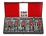8MILELAKE 131 Piece Helicoil Type Thread Repair Kit M5 M6 M8 M10 M12 Thread Repair Kit
