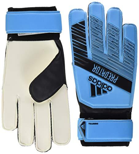 adidas Adult Predator Training Soccer Goalkeeper Gloves , Bright Cyan/Black  , 8 (Predator Keeper Gloves)