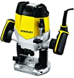 Stanley STRR1200 Metal Plunge Router (Multicolor)