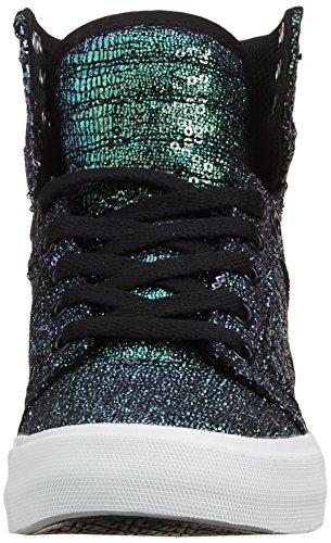 Sneaker Casa Sequin Negro Damen Zapatillas Black Mujer Supra Skytop de WBwZxv