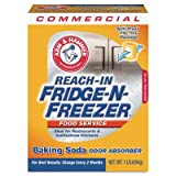CDC 3320084011CT Fridge-N-Freezer Pack Baking Soda, Unscented, Powder, 16 oz., 12/Carton