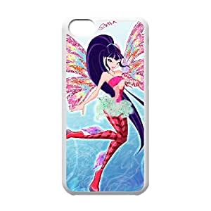 iPhone 5c Cell Phone Case White Winx Hard Phone Case Cover Custom CZOIEQWMXN5188