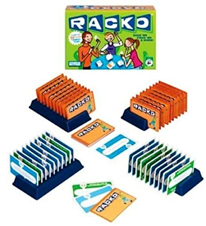 Amazon Racko Card Game 50th Anniversary Toys Games