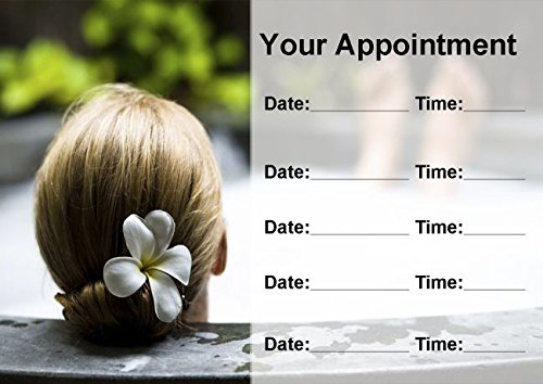 Beauty Salon Massage Treatment Spa Relax Personalized Appointment Cards