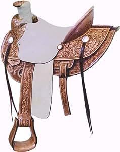 Billy Cook Saddlery Wade Ranch Roper Saddle 15.5
