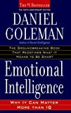 Emotional Intelligence: Why It Can Matter More Than IQ, Daniel Goleman, 055338371X