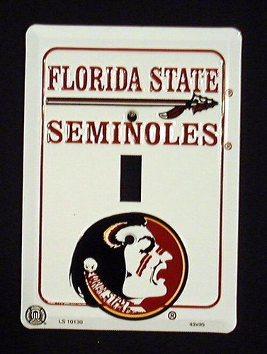 Florida State Seminoles FSU Light Switch Covers (single) Plates LS10130