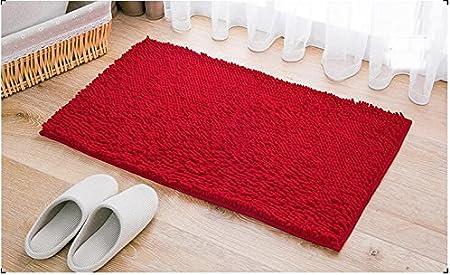 ParaCity alfombrilla de ba/ño antideslizante 45/* 70/cm suave Shaggy alfombra de ducha de ba/ño lavable de microfibra lujo ba/ño alfombra para suelo ba/ño Dormitorio sala de estar