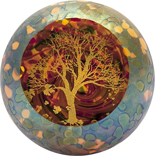 Glass Eye Studio Autumn's Beauty Paperweight