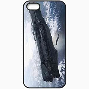 Personalized iPhone 5 5S Cell phone Case/Cover Skin Halo 4 Black