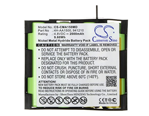 Replacement Battery for Compex 4H-AA1500 941210 Mi