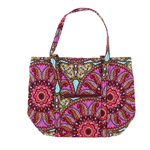 Tote Medallion Vera Bradley Handbag Shoulder Blue Resort Unisex qxUw7Ax8