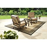 Better Homes and Gardens Carter Hills 3-Piece Outdoor Chat Set