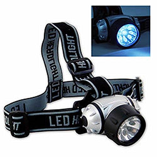 9 Led Camping Head Lamp Light Flashlight ()