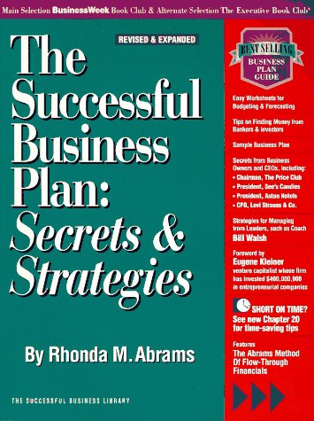 The Successful Business Plan: Secrets & Strategies (Psi Successful Business Library)