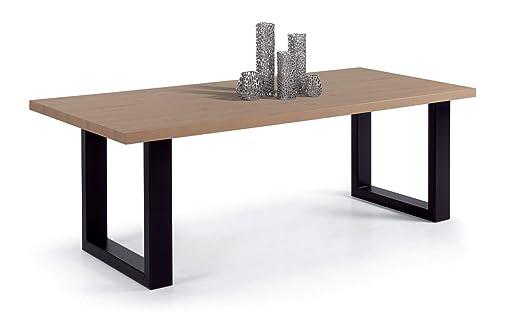 IDEA Mesa de Comedor con Patas metálicas en U UNICUS, Mesa ...